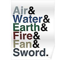 Avatar - Sokka's Speech Poster