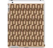 Cork Links Masculine Pattern iPad Case/Skin
