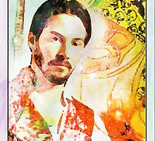 King of Wands Keanu by tommyho