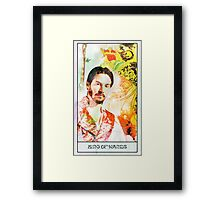 King of Wands Keanu Framed Print