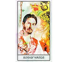 King of Wands Keanu Photographic Print