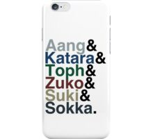 The Gaang iPhone Case/Skin