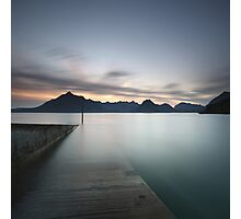 Elgol at Sunset Photographic Print