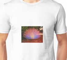 Peacock in colour Unisex T-Shirt