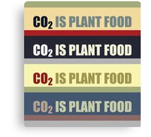 Carbon Dioxide Is Plant Food Canvas Print
