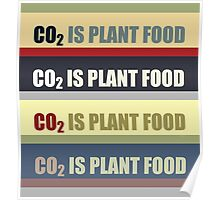 Carbon Dioxide Is Plant Food Poster