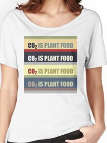 Carbon Dioxide Is Plant Food Women's Relaxed Fit T-Shirt