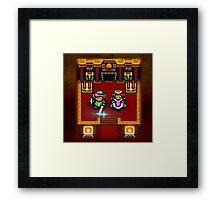 Zelda Sanctuary Framed Print