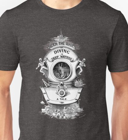 Diving in Deep Waters Unisex T-Shirt