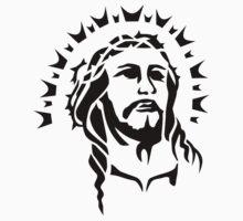 Jesus head One Piece - Short Sleeve