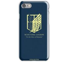 Shingeki No Kyojin iPhone Case/Skin