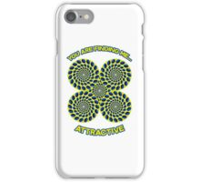 You are finding me attractive - Optical Illusion, hypnotic, hypnosis design iPhone Case/Skin