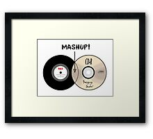 Venn Diagram of a MashUp! Framed Print