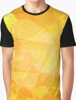 Polygons, Yellow (Wallpaper, Background) Graphic T-Shirt