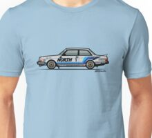Volvo 240 242 Turbo Group A Homologation Race Car Unisex T-Shirt