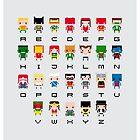 Superhero Alphabet by Sergey Vozika