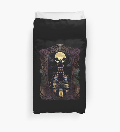 Magus Castle Duvet Cover