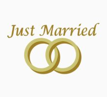 Just married wedding rings One Piece - Long Sleeve