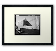 Jay's Lunch/Home Savings - Youngstown, Ohio Framed Print