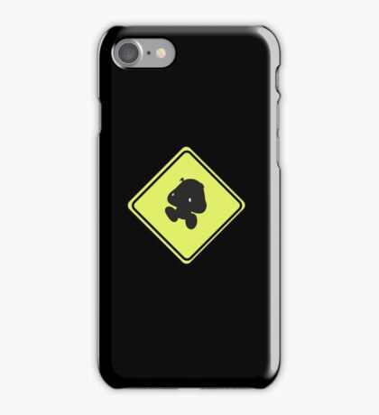 Goomba crossing iPhone Case/Skin
