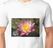 Lovely Pink Water Lily Unisex T-Shirt