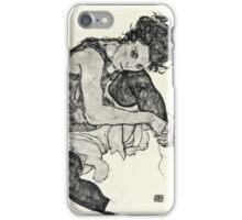 Egon Schiele - Zeichnungen I  (1917)  iPhone Case/Skin