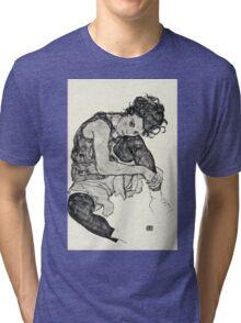 Egon Schiele - Zeichnungen I  (1917)  Tri-blend T-Shirt