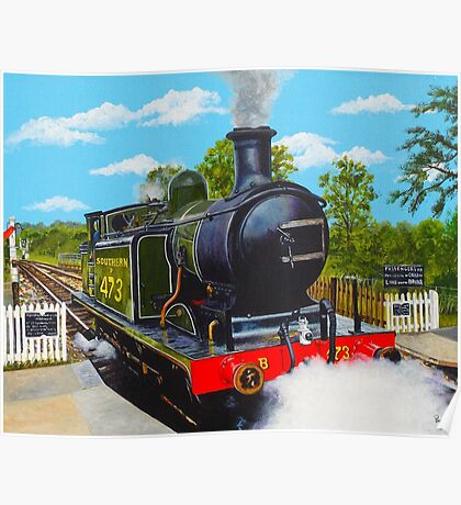 Southern Steam Poster