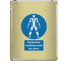 Protective Clothing Must be Worn iPad Case/Skin