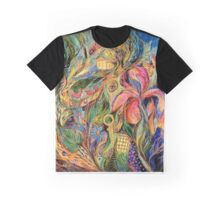 The Sea and the Land Graphic T-Shirt