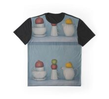 Still life with tea and fruit  Graphic T-Shirt