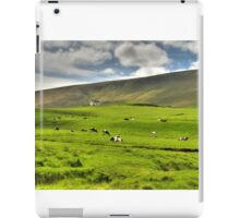 Cows in field iPad Case/Skin