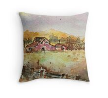 The countryside Throw Pillow