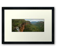 Fitzroy Falls & Kangaroo Valley pano Framed Print