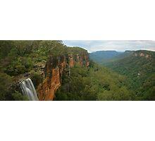 Fitzroy Falls & Kangaroo Valley pano Photographic Print