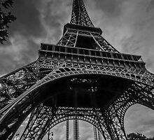 Eiffel Tower, Paris by Sarah Abernethy