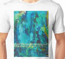 She Was Aqua Blue, Possibly Just Aqua Unisex T-Shirt