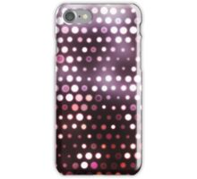 Dots, Pink (Wallpaper, Background) iPhone Case/Skin
