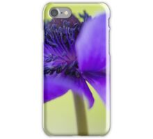 Anemone de Caen iPhone Case/Skin