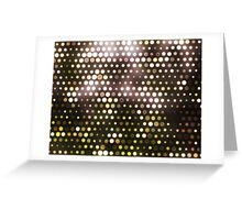 Dots, Yellow (Wallpaper, Background) Greeting Card