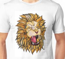 Watercolour and Ink Lion Unisex T-Shirt