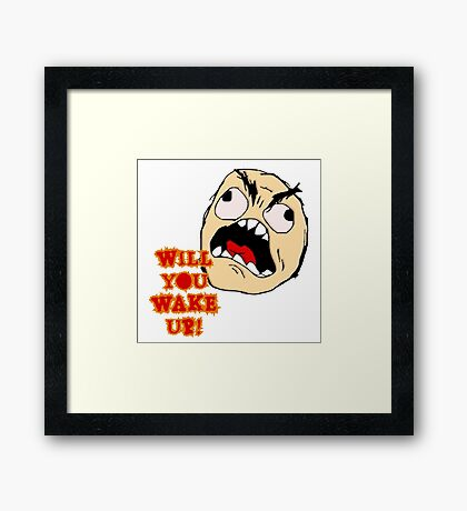 Will You Wake Up from Hells Kitchen Framed Print