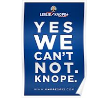 Vote for Knope Poster