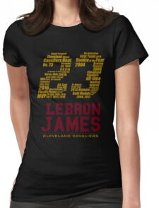 lbj23 Womens Fitted T-Shirt