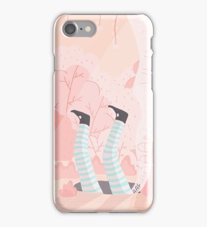 Alice And The Rabbit Hole iPhone Case/Skin