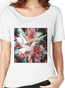 Floral Glitch II Women's Relaxed Fit T-Shirt