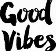 Good Vibes Floral Sticker