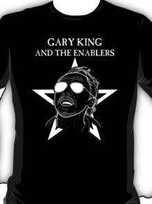 GARY KING AND THE ENABLERS - The World's End T-Shirt