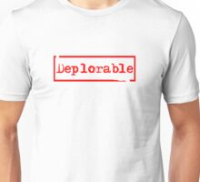 Deplorable Unisex T-Shirt