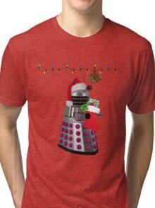 Ding dong  - Christmas calling Tri-blend T-Shirt
